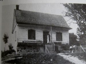 The miller's cottage where the first monks lived