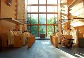 Chapel interior of the current monastery